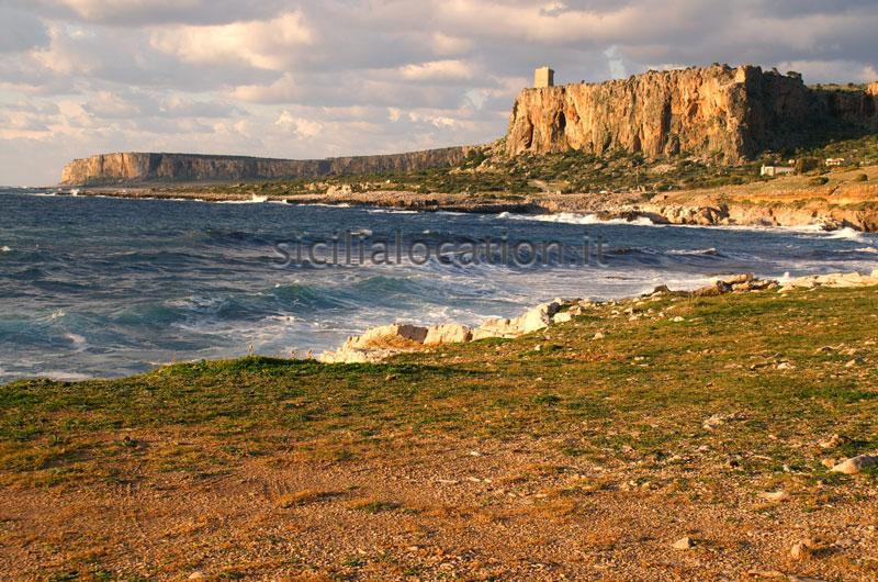Sicily cliff